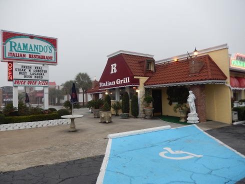 Ramando Italian Restaurant in Myrtle Beach, South Carolina