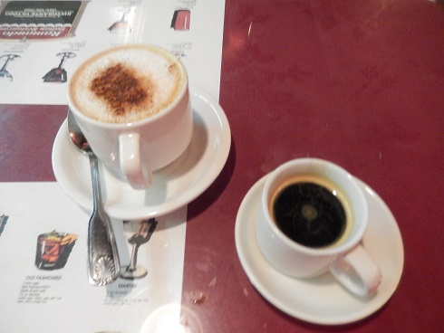 We finished with one of Ramando's after dinner specialties cappuccino and espresso.